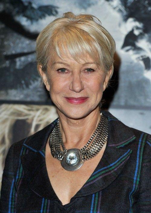 8 best Older Women Hairstyles images on Pinterest | Grey hair ...