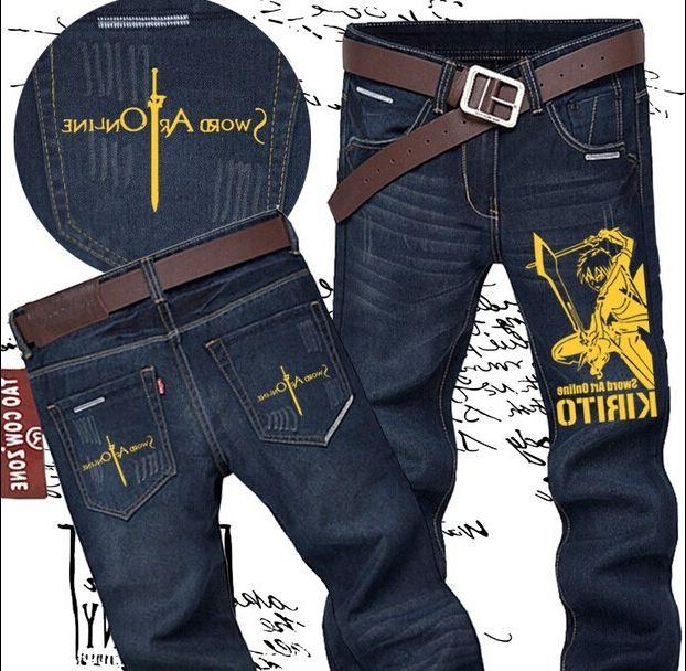 39.90$  Watch here - https://alitems.com/g/1e8d114494b01f4c715516525dc3e8/?i=5&ulp=https%3A%2F%2Fwww.aliexpress.com%2Fitem%2FFTWL-brand-anime-robin-jeans-Sword-art-online-Kirito-straight-men-pants-size28-36-high-quality%2F32261088373.html - FTWL Anime Robin Jeans Sword Art Online Kirito Straight Men Pants size 28-36 high quality 39.90$