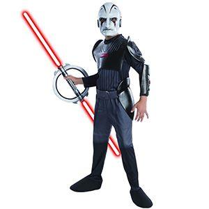 Rubies Star Wars The İnquisitor Kostümü 5-7 Yaş, doğum günü kostümleri erkek
