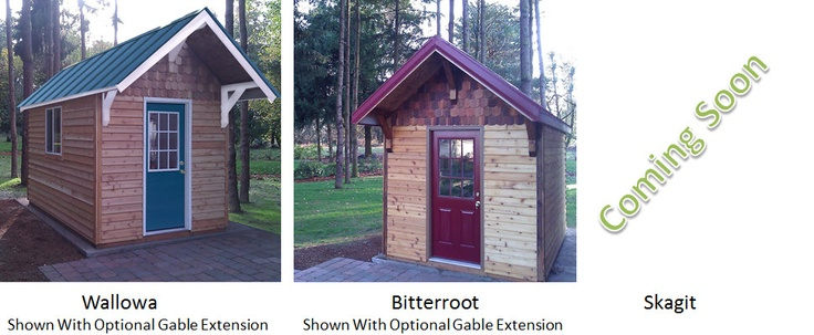 Tiny House Builders' Bitterroot house