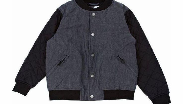 Molo Boys Molo Hendrick Jacket - Denim Kids quilted bomber jacket