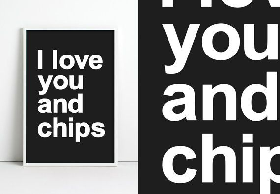 Love Chips by jpappleton on Etsy