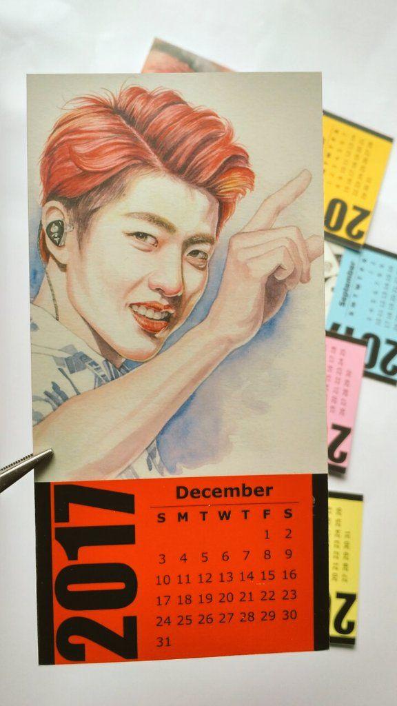 Calendar INFINITE 2017