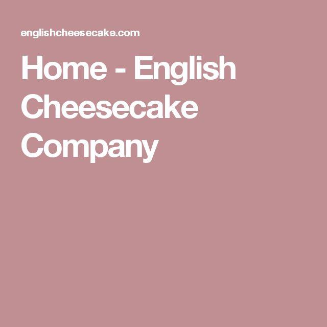 Home - English Cheesecake Company