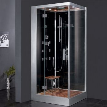 The Ariel Platinum DZ960F8 Steam Shower Also Available In A White Model Comes With