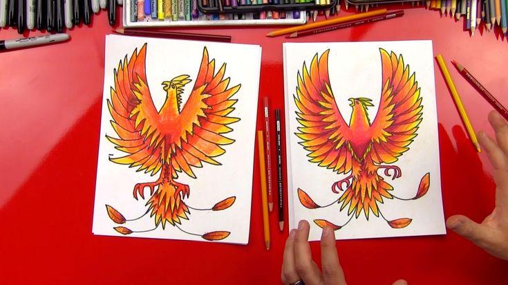 Hoe maak je een Phoenix Draw
