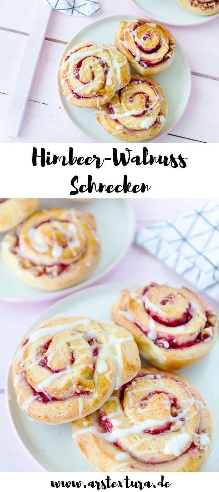 Himbeer-Walnuss Schnecken