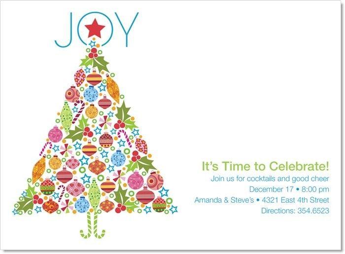28 best Charity Holiday Party images – Tree Trimming Party Invitation
