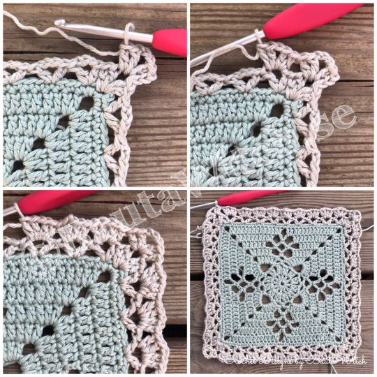 DIY – Victorian Lattice Square o min variant av Lace Join – BautaWitch