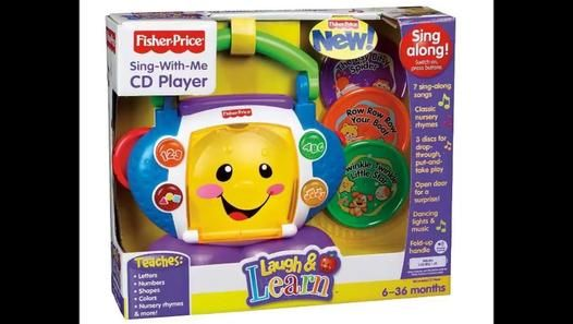 Cheap Fisher-Price Laugh & Learn Sing-with-Me CD Player