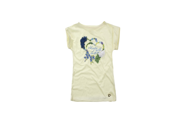 T-shirt ss13 collection t-shirt #maisonespin #springsummercollection13 #womancollection #lovely #MadewithLove #romanticstyle #milano