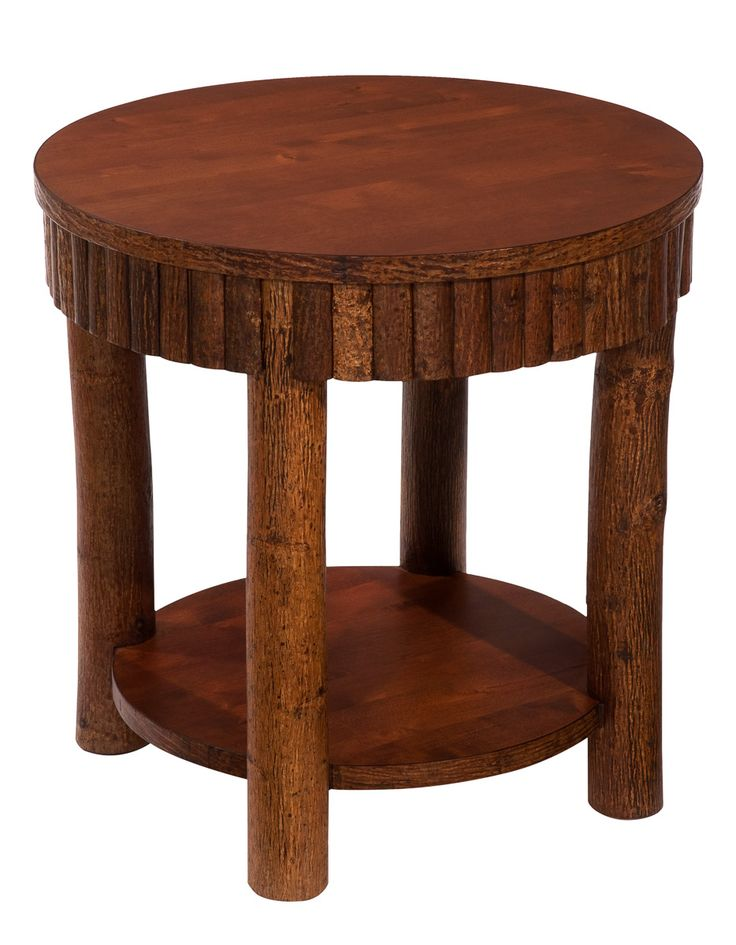 Hickory Side Table 24 Size with Lower Shelf   459 00 Beautiful handmade  solid hickory wood. 20 best Kelly Barn Furniture Pieces images on Pinterest