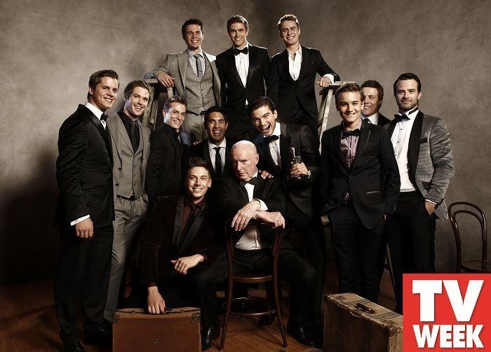 Logies 2014 - the men of Home & Away