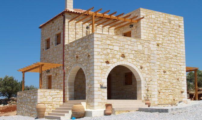 Building Styles Traditional Cretan Homes Stone Villas Greece Home Plans Blueprints 11783 Stone House Plans Stone Houses Architecture House