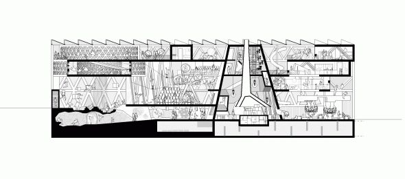MVRDV, ADEPT | House of Culture and Movement | 2010