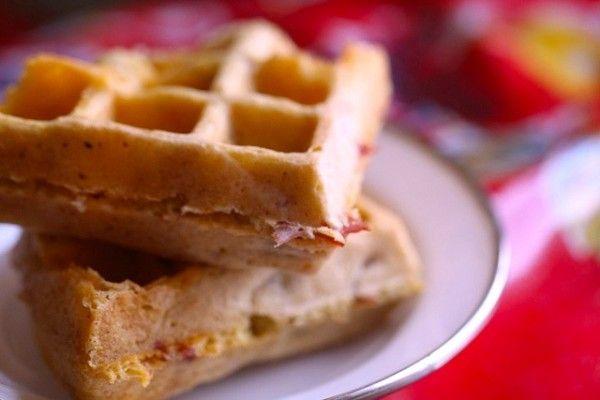 ... cornmeal pancakes with ham recipes dishmaps cornmeal pancakes with ham