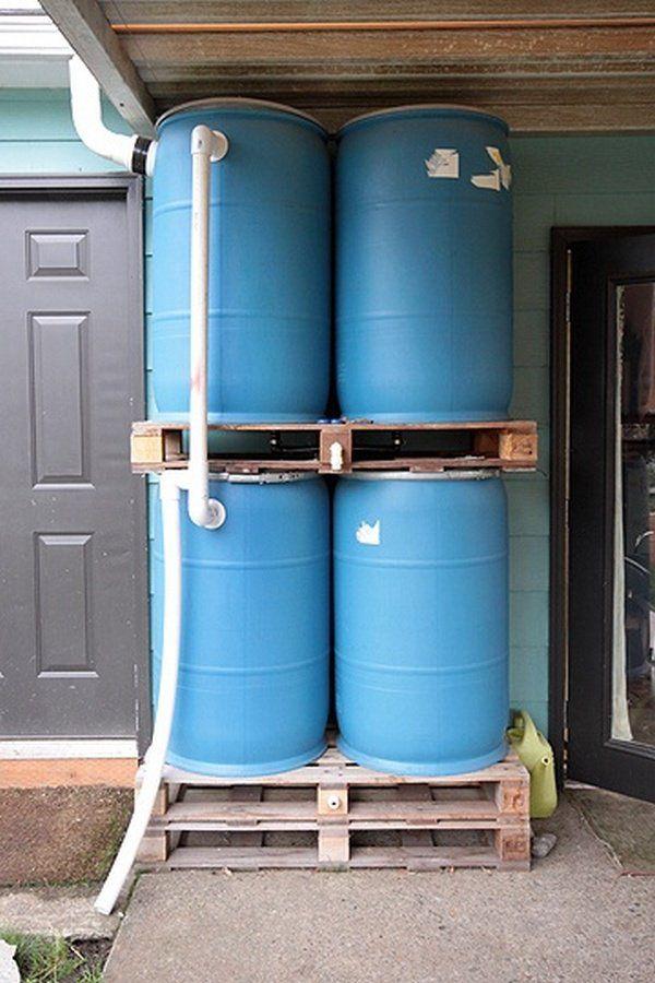 Rain Barrel System Home Remodeling Ideas Pinterest