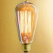Antique Thomas Edison Light Bulbs for Vintage Lamps - Flickering Light Bulbs