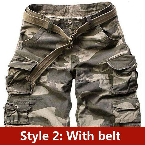 Men's Clothing Friendly Mens Sport Casual Shorts Comfortable Sweatpants Sport Drawstring Summer Workout Fitness Gym Mens Camouflage Military Shorts 037