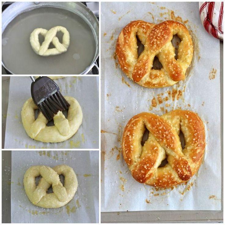 Pretzels suaves - pretzels caseros son fáciles de hacer que nunca pensé y estos son mucho mejores que los que están en el centro comercial o estadio de béisbol!
