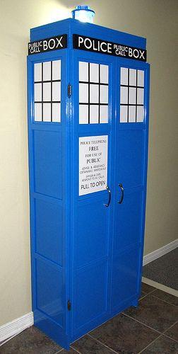 Tardis Dr. Who Bookcase | Doctor Who Tardis Bookshelf For Sale