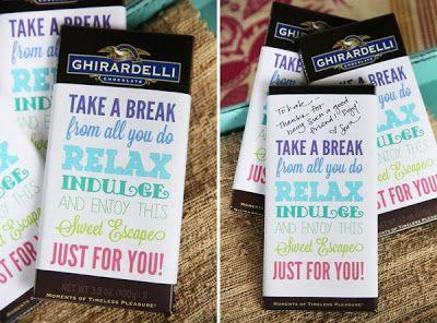CONTROLLING Craziness: Teacher Gifts