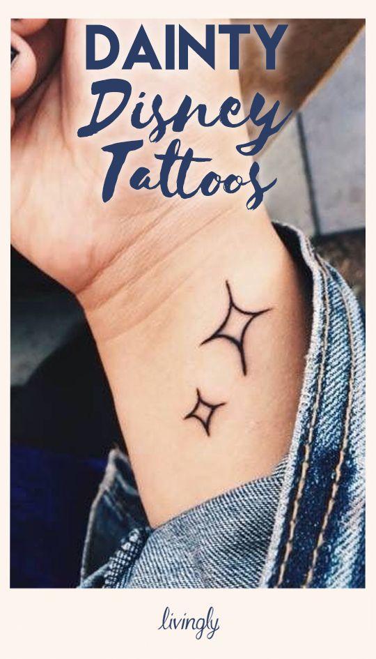 Dainty Disney Tattoos
