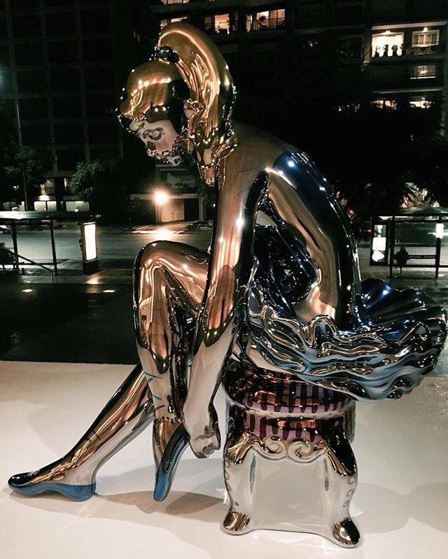 Bailarina en la oscuridad / Dancer in the dark #JeffKoons #koonsenmalba #malba #museomalba #ballerina