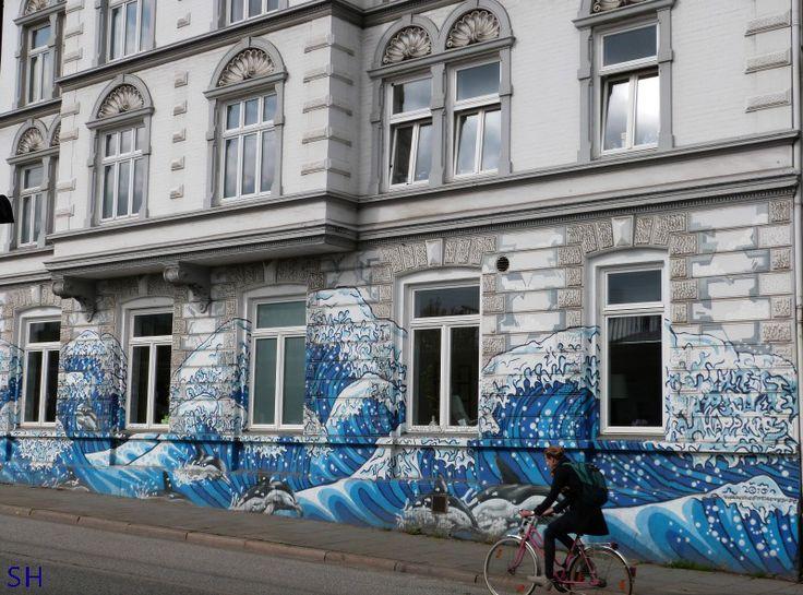 Ottensen Street Art op Altbau - Standort Hamburg