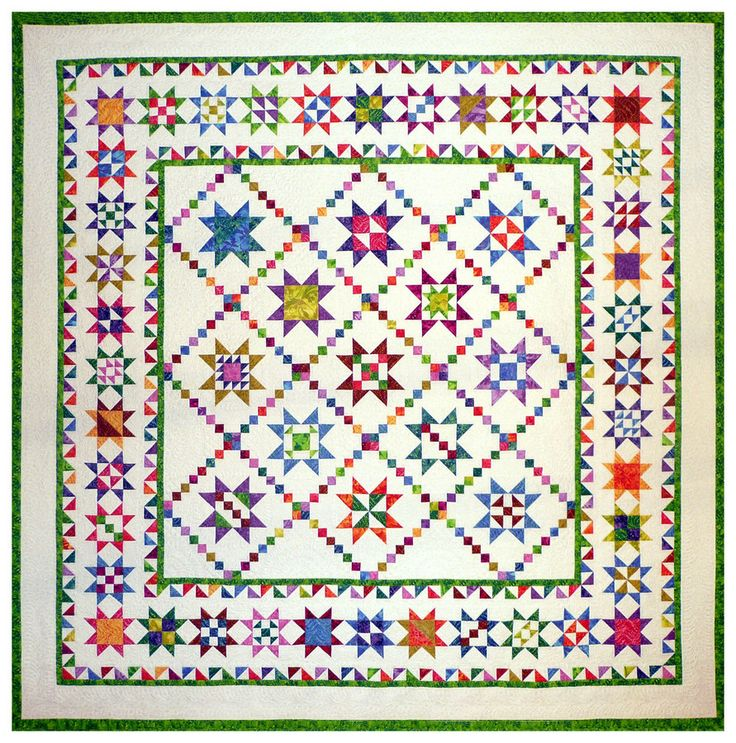962 best QUILTS images on Pinterest | Quilting ideas, Quilting ... : crazy star quilt pattern - Adamdwight.com