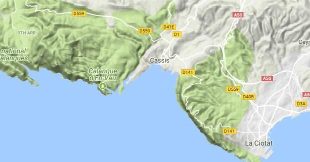 Cassis Hiking Routes - The best hiking routes in Cassis, Provence-Alpes-Côte d'Azur