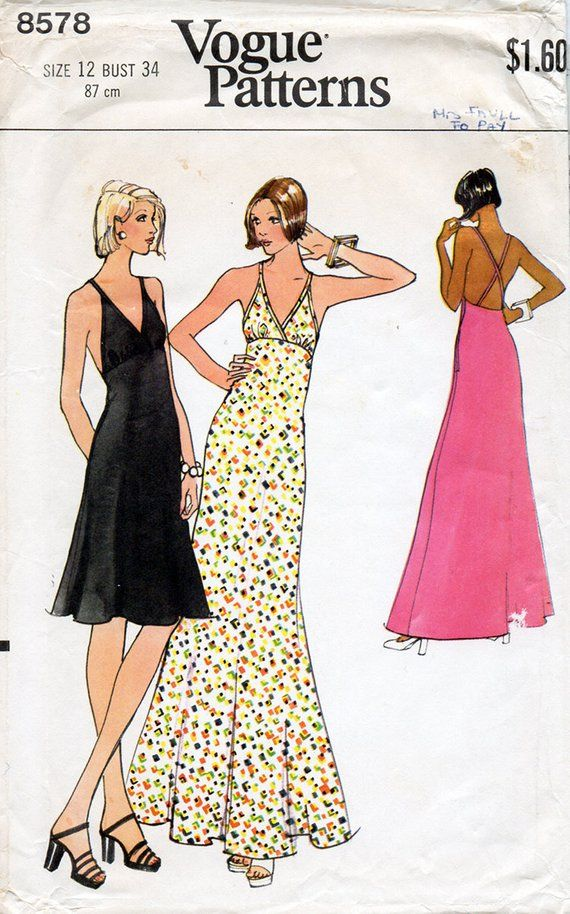 Pin On 70 S Vintage Patterns