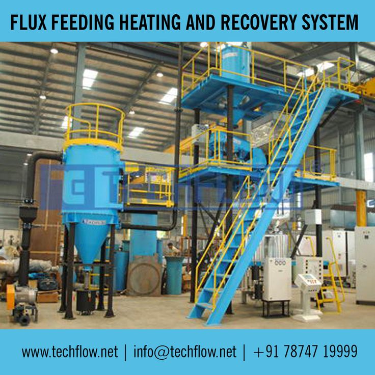 Flux Feeding Heating and Recovery System - http://techflow.net/flux_feeding_heating_and_recovery_system.html
