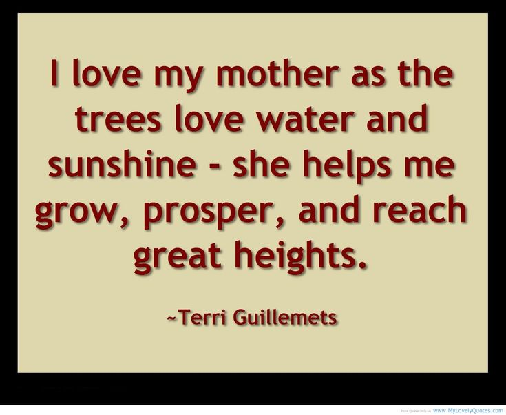 Image Result For Quotes About Mother Love