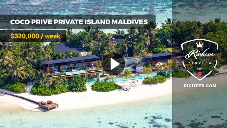 COCO PRIVE PRIVATE ISLAND MALDIVES $320,000 / week  #wealth #rich #luxury #zen #mega #yacht #supercar #mansion #helicopter #private #jet #exotic #recreation #visualization #tools #top #brand #style #relax #дом #яхта #самолет #вертолет #суперкар  #бизнес #роскошь #мода #стиль  #визуализация #трансерфинг