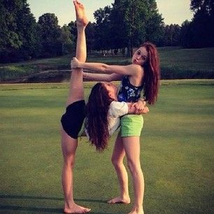 real friends  gymnastics poses cheer poses yoga poses