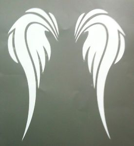 angel wings stencil free   Details about AIRBRUSH GLITTER TATTOO STENCIL ANGEL WINGS No 2