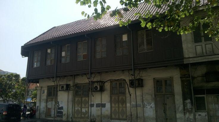 Bangunan tua di Kota Tua, Jakarta