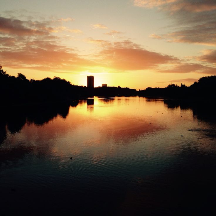 Early sunrise in hyde park london uk sunrise favorite