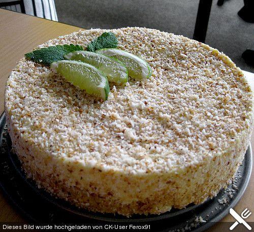 Kubanische Frischkäse Torte