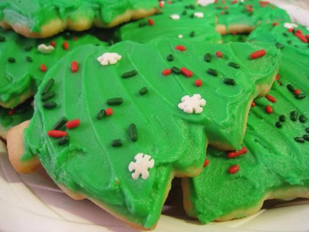 Another pinner said:The BEST sugar cookie recipe I have found. Tried and true.