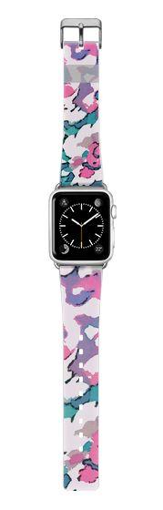 Casetify Apple Watch Band (38mm) {{case}} - FANCY FLORALS - APPLE WATCH BAND by Nika Martinez #Casetify