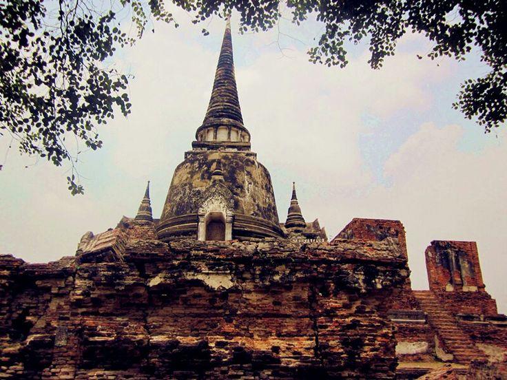 Wat Phra Si Sanphet - Ayutthaya, Thailand