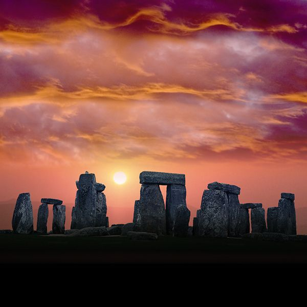 Stonehenge - saw a TV programme the other night that suggested ancient people moved these stones using little carved balls of stone along wooden runners - they tried it and it worked. Explains why these carved balls were found - the ancients were very clever.