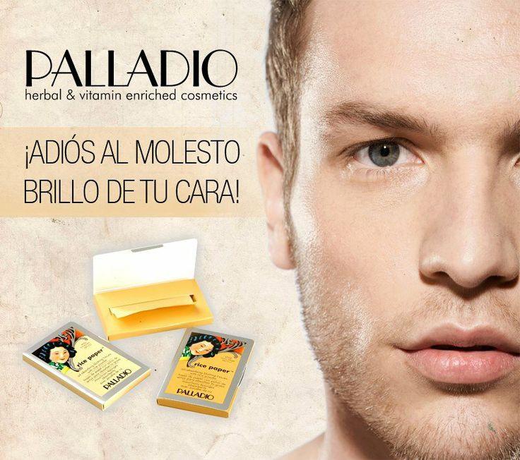 Decile adiós al molesto brillo de tu cara #Palladio #Polvo de arroz