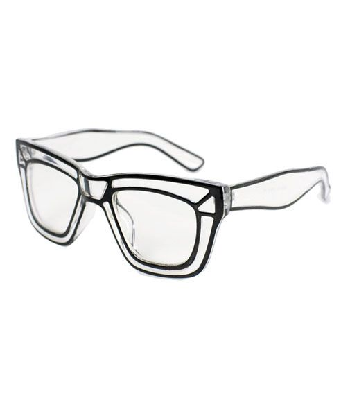 cb10d5051f4 Retro Oversized Plain Glasses with Transparent Frame    In love with these