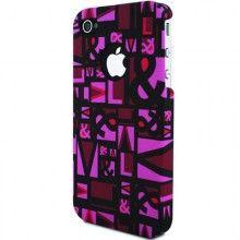 Forro iPhone 4 4S Victorio & Lucchino PopArt - Rosa