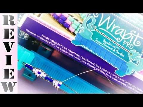 Rainbow Loom New WrapIt Pro Beaded Bracelet Kit Demonstration | How to and Review - YouTube