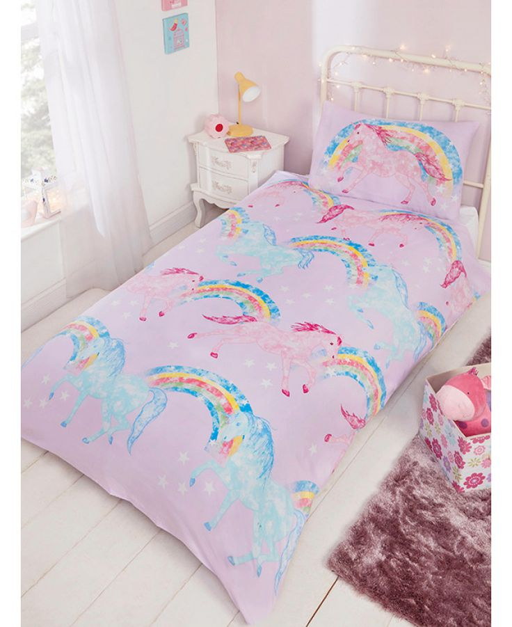 52 Best Unicorn Bedroom Images On Pinterest Free Uk Single Duvet Cover And Unicorn