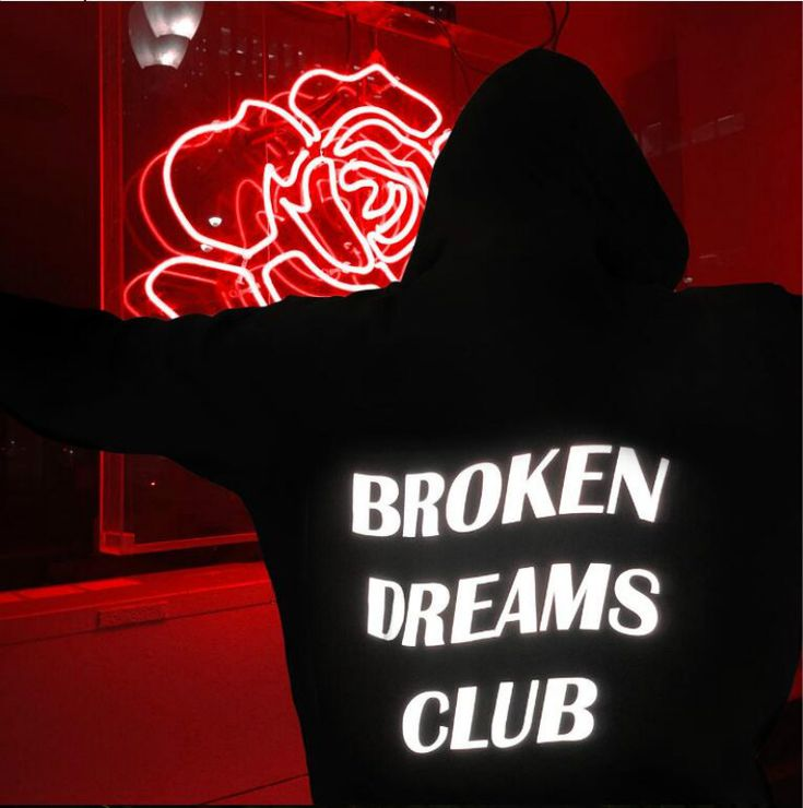 Find More Hoodies & Sweatshirts Information about New fashionable hoodies broken Dream Club reflective unisex hoody sweatshirt black,High Quality Hoodies & Sweatshirts from JOYINPARTYCHIC Store on Aliexpress.com